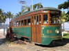 Brazil / Brasil -  Santos - SP: old tram / velho bonde - 42, para Santos - photo by Captain Peter