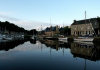 Brittany / Bretagne - Dinan (C�tes-d'Armor dep.): reflection - river Rance (photo by Rui Vale de Sousa)