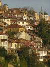 Veliko Tarnovo: as seen from Gurko street III (photo by J.Kaman)