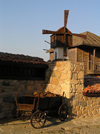 Sozopol: in front of Windmill restaurant (photo by J.Kaman)