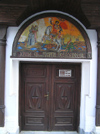 Sozopol: door of Church of St George Pobedonosec (photo by J.Kaman)