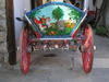 Nesebar / Nessebar - Burgas province: Hand-painted cart (photo by J.Kaman)