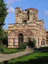 Nesebar / Nessebar - Burgas province: Medieval church - St. Stefan (photo by J.Kaman)