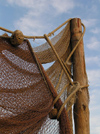 Nesebar: fishing net (photo by J.Kaman)