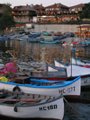 Nesebar: white boats (photo by J.Kaman)