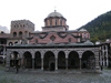 Rila Monastery - Rila Monastery:  the main church - Unesco world heritage site - Blagoevgrad region (photo by J.Kaman)