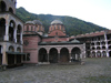 Rila Monastery - inner court - Unesco world heritage site (photo by J.Kaman)