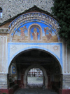 Rila Monastery: gate II (photo by J.Kaman)