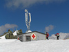 Sofia: Red Cross hut at Vitosha mountains