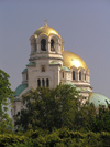 Bulgaria - Sofia: domes of Aleksander Nevski Orthodox Cathedral (photo by J.Kaman)