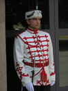 Bulgaria - Sofia: guard in front of the Presidential palace - Presidential Guard (photo by J.Kaman)