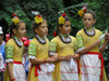 Bulgaria - Plovdiv: Girls dancing in folk costumes (photo by J.Kaman)