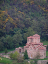 Veliko Tarnovo: St Demetrius church as seen from the Tsarevets fortress (photo by J.Kaman)