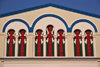 Bujumbura, Burundi: St. George's Greek Orthodox Church - windows - photo by M.Torres