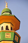 Bujumbura, Burundi: Friday Mosque - minaret - photo by M.Torres
