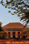 Gitega / Kitega, Burundi: Belgian villa - colonial architecture - photo by M.Torres