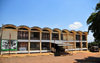 Gitega / Kitega, Burundi: adminsitrative building in Burundi's old capital - UN AIDS programme offices - Musinzira hill - quartier administratif - photo by M.Torres