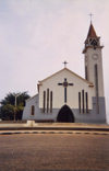 Cabinda - Tchiowa: main church / igreja matriz (photo by FLEC)