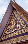 Cambodia / Cambodje - Phnom Penh: Royal Palace - roof of the royal offices (photo by M.Torres)