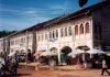 Cambodia / Cambodge - Cambodia - Siem Reap / Siemreab / REP : French colonial façades by the old market (Psaa Chas) (photo by M.Torres)