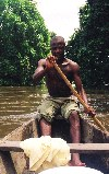 Cameroon - Kribi / KBI (Sud province): going to see the Pygmies