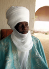 Maroua, Cameroon: His Majesty Bakary Bouba, the Lamido of Maroua - traditional ruler - photo by B.Cloutier