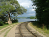Canada / Kanada - Lake Muskoka, Ontario: end of the railway - photo by R.Grove
