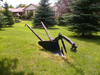 Niagara Falls, Ontario, Canada / Kanada: plough on a lawn - photo by R.Grove