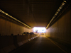 Welland, Ontario, Canada / Kanada: road tunnel - driver's view - photo by R.Grove