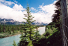 Canada / Kanada - Canmore, Alberta: following the Bow river - photo by M.Torres