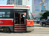 Toronto, Ontario, Canada / Kanada: the tram to CNE - Canadian National Exhibition - streetcar - photo by R.Grove