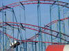 Toronto, Ontario, Canada / Kanada: roller coaster detail - Canadian Exhibition - photo by R.Grove