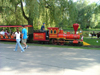 Toronto, Ontario, Canada / Kanada: train - miniature railway at Centreville Amusement Park - Centre Island - photo by R.Grove