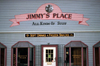 Canada / Kanada - Dawson city (Yukon): all kind of stuff - Jimmy's Place (photo by F.Rigaud)