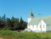Canada / Kanada - Burin Peninsula, Newfoundland: countryside church - photo by B.Cloutier