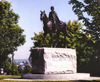 Canada / Kanada - Ottawa (National Capital Region): Queen Elizabeth II - equestrian statue - photo by G.Frysinger