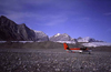 Canada - Ellesmere Island (Nunavut): Twin Otter aircraft at Hare Fiord (photo by E.Philips)