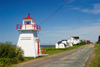 Canada 403 Lighthouse on the Bay of Fundy in Margaretsville, Nova Scotia, Canada - photo by D.Smith