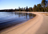 Canada - Ontario - Lake Superior: shoreline - sandy beach - photo by R.Grove