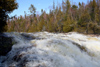 Canada - Ontario - Algoma District - Sand River: rapids - photo by R.Grove