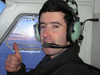 Fort Good Hope, Northwest Territories, Canada: pilot gives thumbs up - photo by Air West Coast