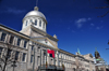 Montreal, Quebec, Canada: Bonsecours market, now an exhibition hall and multi purpose events venue - Headquarters of the Conseil des m�tiers d'art du Qu�bec and the Institute of Design Montr�al - Rue de La Commune - Vieux-Montr�al - photo by M.Torres