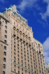 Toronto, Ontario, Canada: Fairmont Royal York hotel - architects Ross and Macdonald - south façade - photo by M.Torres
