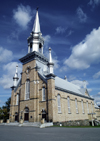 Hartland, New Brunswick, Canada: the local church - photo by C.Lovell