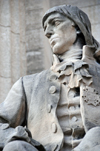 Winnipeg, Manitoba, Canada: Legislative building - French Canadian military officer, trader and explorer Pierre Gaultier de Varennes, Sieur de la Vérendrye, born in the Nouvelle-France - photo by M.Torres