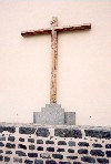 Carnay Islands / Canarias - Tenerife - Puerto de La Cruz: a Tenerifean cross at Casa de la Real Alfandega - photo by M.Torres