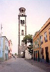 Carnay Islands / Canarias - Tenerife - Santa Cruz de Tenerife: the tower at the church of Nuestra Se�ora de la Concepci�n - photo by M.Torres