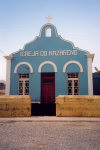 Cabo Verde - Cape Verde - Assomada (concelho de Santa Catarina), Santiago island: the Church of the Nazarene - evangelical Christian denomination - Wesleyan tradition - igreja do Nazareno - photo by M.Torres