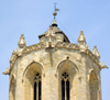 Tarragona, Catalonia: Cathedral - drum lantern - photo by B.Henry