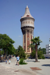 Catalonia - Barcelona: dressed tower - watershed - photo by C.Blam